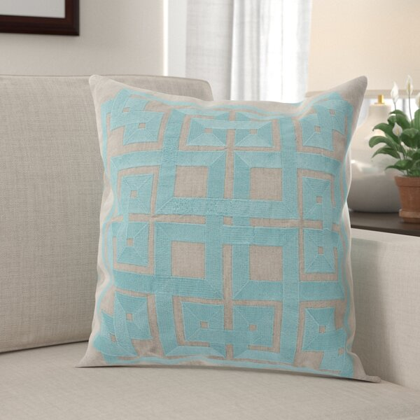 Portage 100% Linen Throw Pillow Cover by Red Barrel Studio